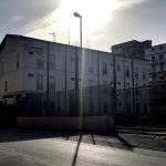 Lavori di costruzione della nuova caserma dei Carabinieri in via Olanda - Favara.