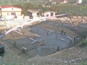 Lavori di costruzione di una palazzina per civile abitazione in viale Mediterraneo - Favara.