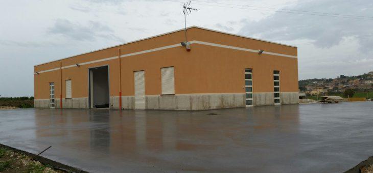 Realizzazione di una pavimentazione industriale a Favara