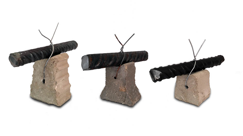 Distanziatore per armatura in Fibro-cemento